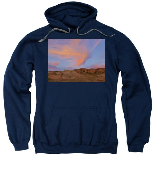 Sunset Clouds, Badlands Sweatshirt