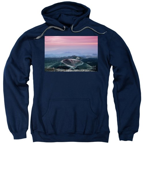 Sunset From The Top Of The Etna Sweatshirt