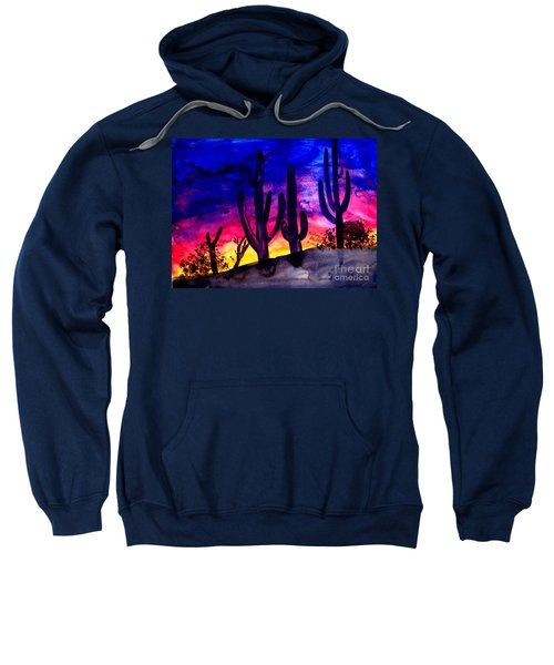 Sunset On Cactus Sweatshirt