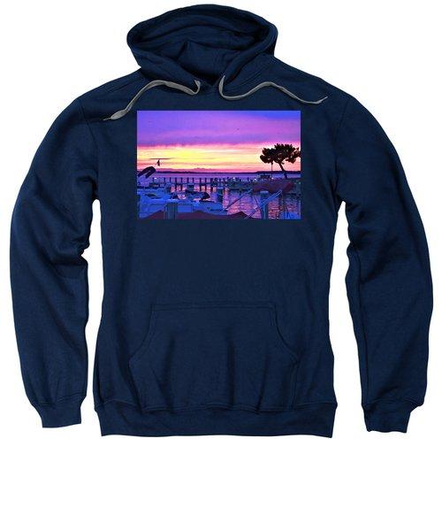 Sunset On The Docks Sweatshirt