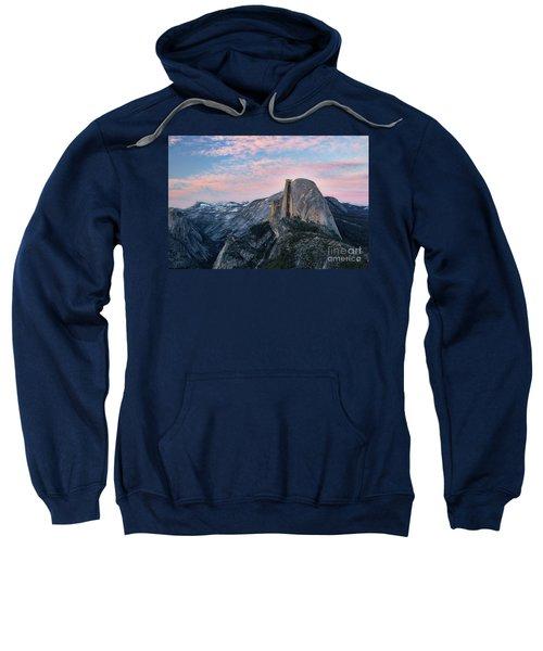 Sunset Over Half Dome Sweatshirt