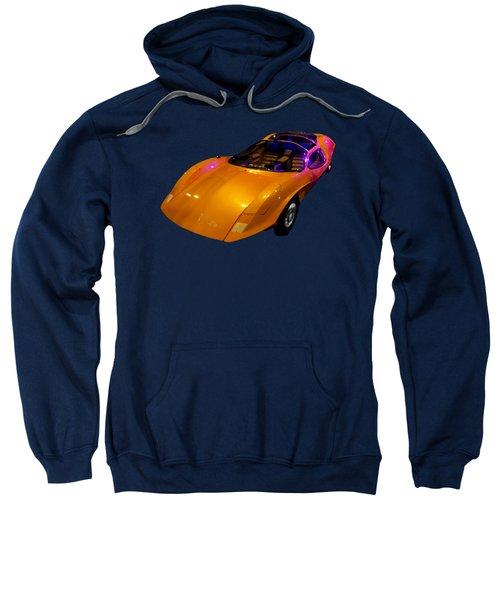 Super Car Orange Art Sweatshirt