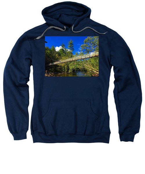 Toccoa River Swinging Bridge Sweatshirt