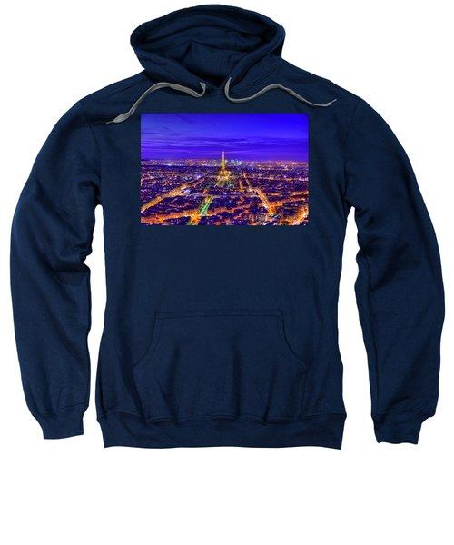 Symphony In Blue Sweatshirt