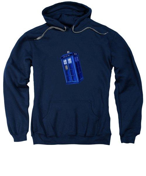Tardis Blue Space Sweatshirt