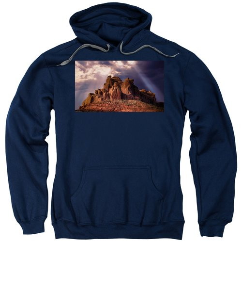 Temple Of Red Stone Sweatshirt