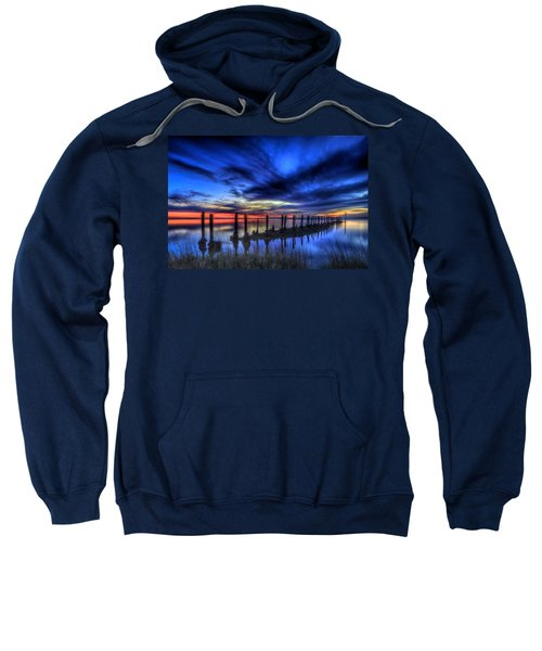 The Blue Hour Comes To St. Marks #1 Sweatshirt