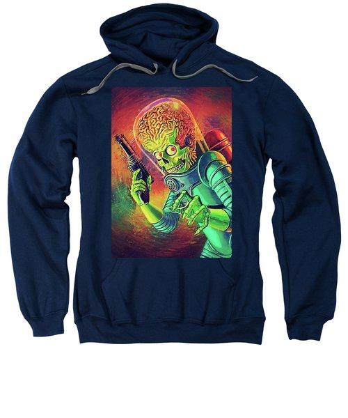 The Martian - Mars Attacks Sweatshirt