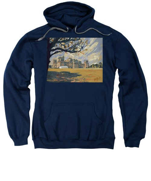 The White Party Tent Along Blenheim Palace Sweatshirt