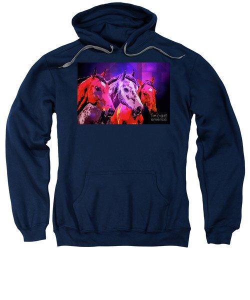 Three Horses Sweatshirt