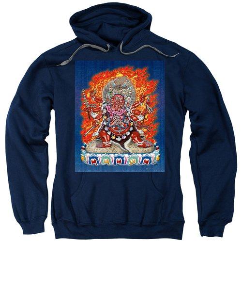 Tibetan Thangka Remake - Hayagriva Sweatshirt