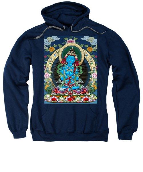 Tibetan Thangka -  Vajradhara Sweatshirt