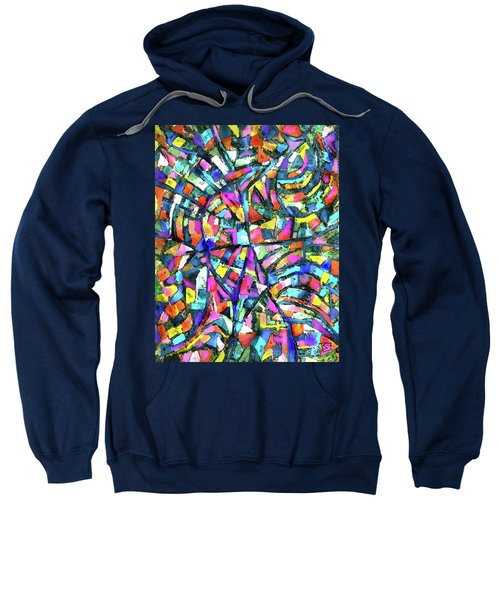 Town Aerial 1 Sweatshirt
