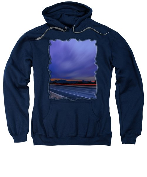Traveling Sunset Blues V52 Sweatshirt
