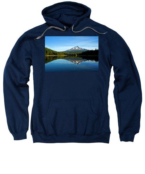 Trillium Lake Mt Hood Fall Sweatshirt