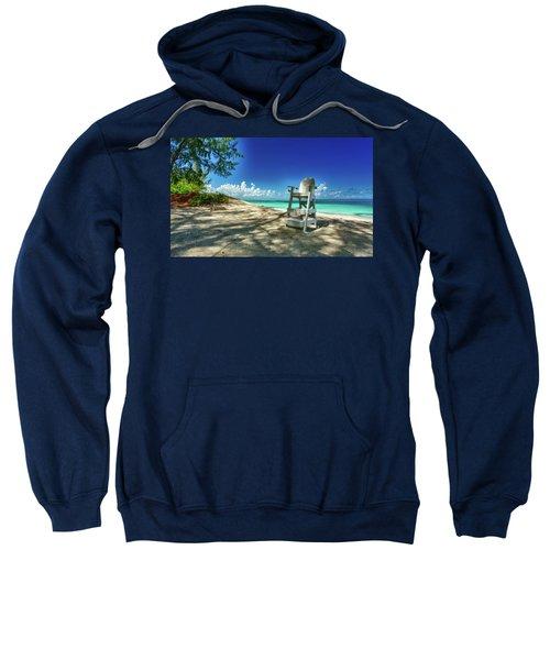 Tropical Beach Chair Sweatshirt
