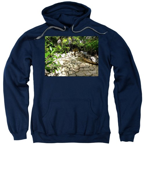 Sweatshirt featuring the photograph Tropical Hiding Spot by Francesca Mackenney