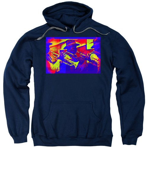Trumpet Player Pop-art Sweatshirt