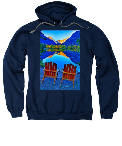 Two Chairs In Paradise Sweatshirt