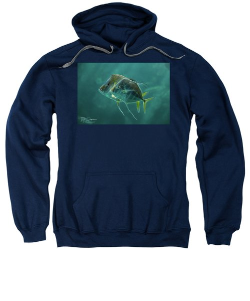 Two In Turquoise Sweatshirt