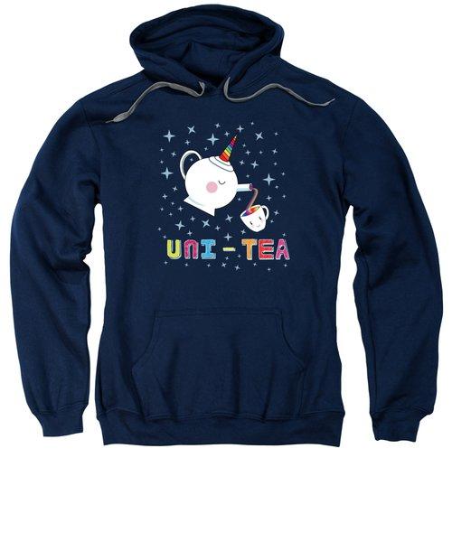 Unitea  Cute Unity Rainbow Tea Pot And Cup Sweatshirt