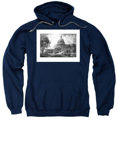 United States Capitol Building Sweatshirt