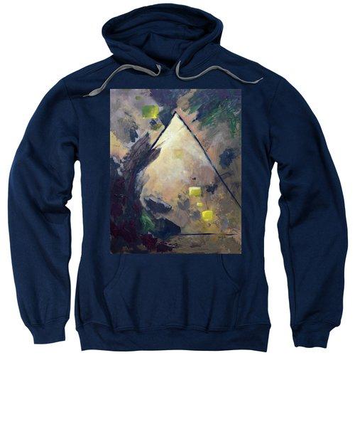Untitled Abstract 730-17 Sweatshirt