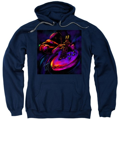 Untitled Guitar Art Sweatshirt