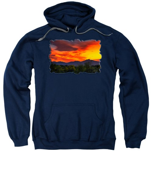 Valley Sunset H32 Sweatshirt by Mark Myhaver