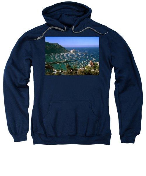 View Of Avalon Harbor Sweatshirt