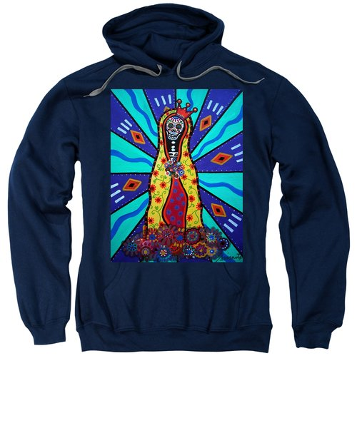 Virgin Guadalupe Day Of The Dead Sweatshirt