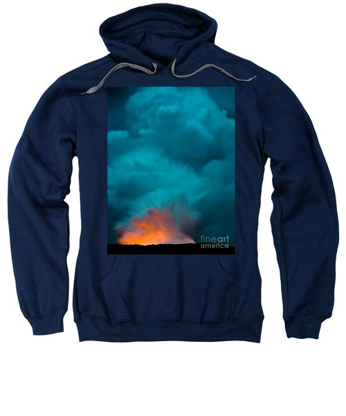 Volcano Smoke And Fire Sweatshirt
