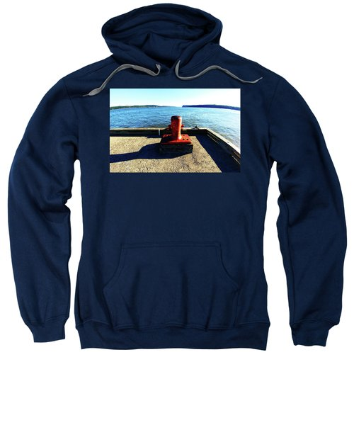 Waiting For The Ship To Come In. Sweatshirt