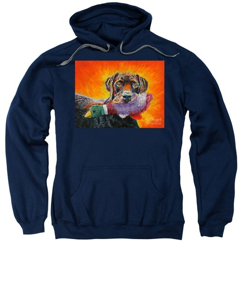Wannabe Retriever Great Dane Sweatshirt