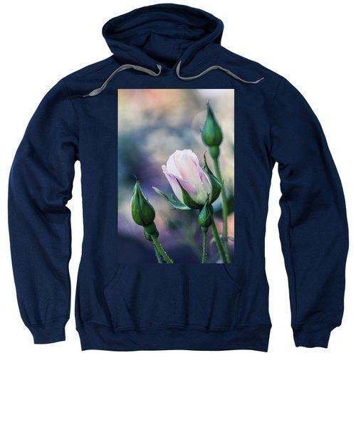 Watercolor Rose Sweatshirt