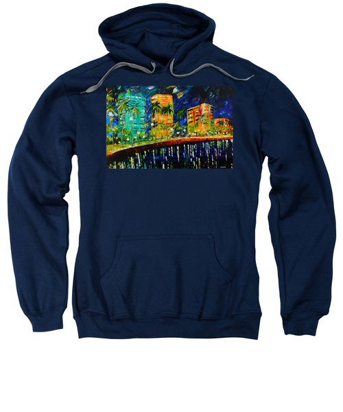 West Palm At Night Sweatshirt
