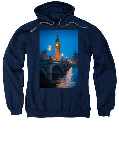 Westminster Bridge At Night Sweatshirt