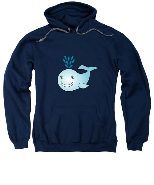 Whale - Animals - Art For Kids Sweatshirt by Anastasiya Malakhova
