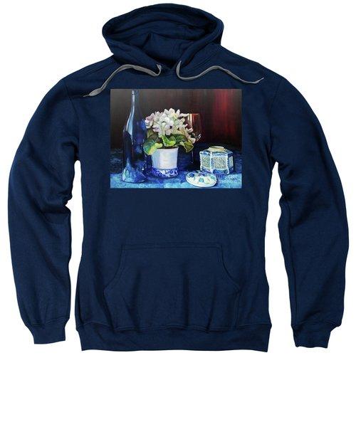 White African Violets Sweatshirt