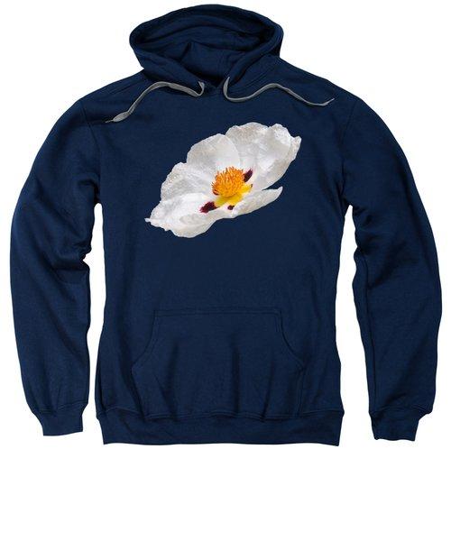 White Cistus Sweatshirt