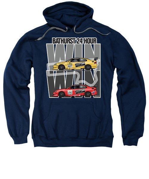 Win Win Holden Monaro Cv8 427c Bathurst 24 Hours Winners 2002 And 2003 Sweatshirt