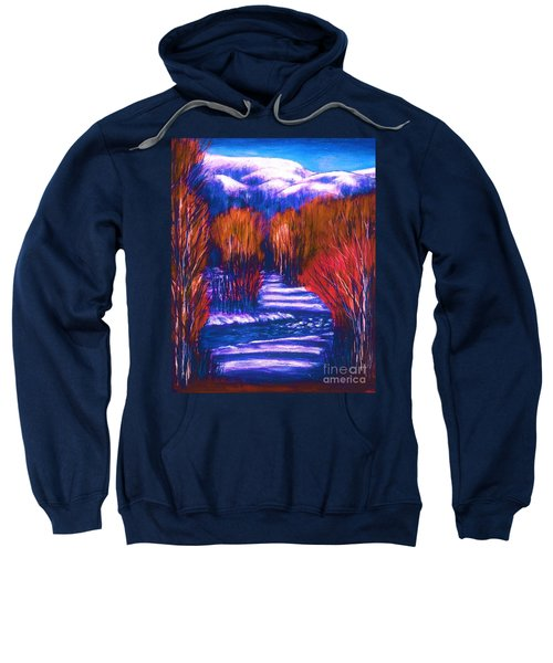 Winter Shadows  Sweatshirt