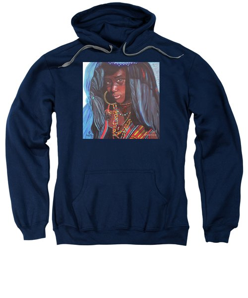 Virtuous Wodaabe Girl          From The Attitude Girls  Sweatshirt
