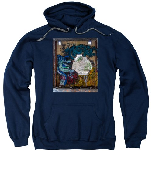 Wompatuck Graffiti Man Sweatshirt