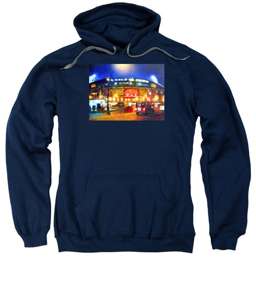 Wrigley Field Home Of Chicago Cubs Sweatshirt