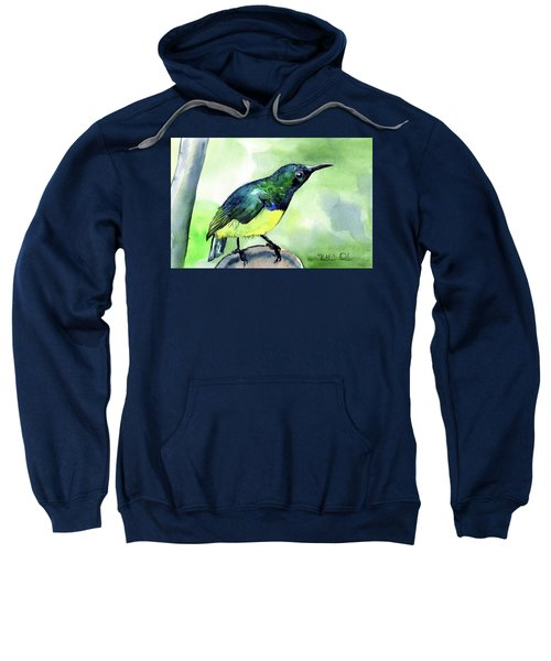 Yellow Bellied Sunbird Sweatshirt