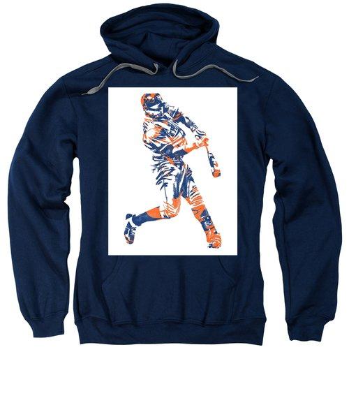 Yoenis Cespedes New York Mets Pixel Art 1 Sweatshirt