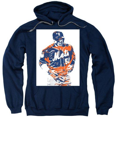 Yoenis Cespedes New York Mets Pixel Art 3 Sweatshirt