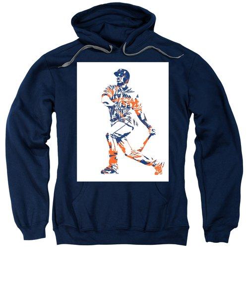 Yoenis Cespedes New York Mets Pixel Art 4 Sweatshirt