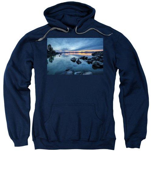 Colorful Sunset At Sand Harbor Sweatshirt